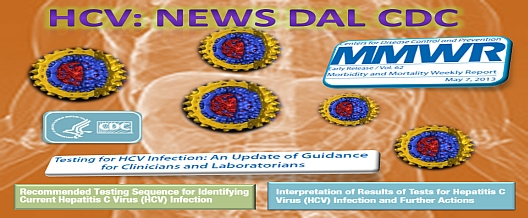 Test HCV: News dal CDC