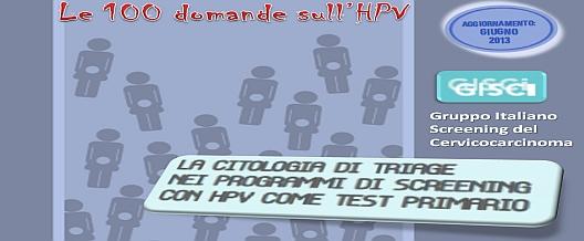Le Novità sull'HPV