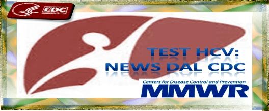 Test HCV: News dal CDC