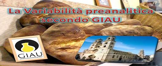 La Variabilità Preanalitica secondo GIAU