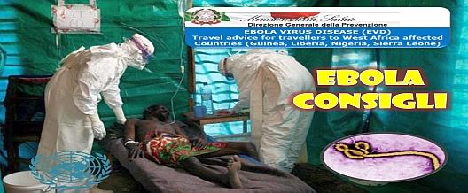 Ebola: consigli