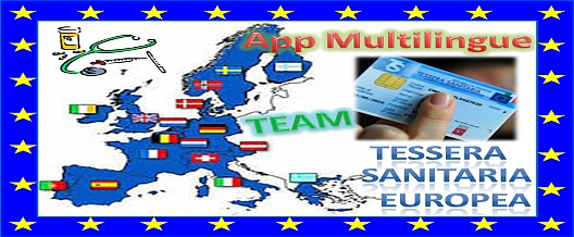 Tessera Sanitaria Europea. App Multilingue