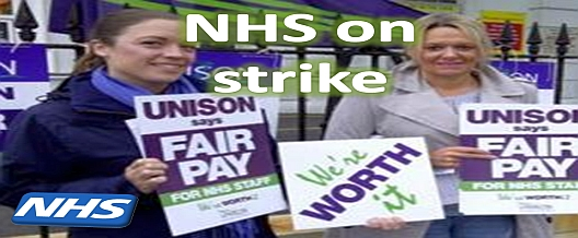NHS on Strike