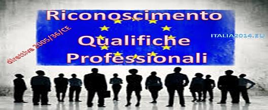 Riconoscimento Qualifiche Professionali