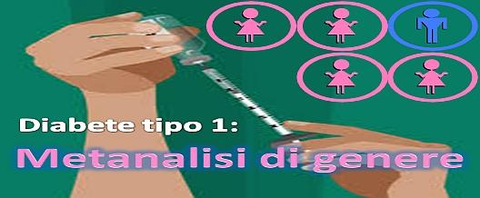 Diabete tipo 1: metanalisi di genere