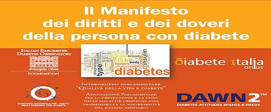 Diabete. Dei Diritti e dei Doveri
