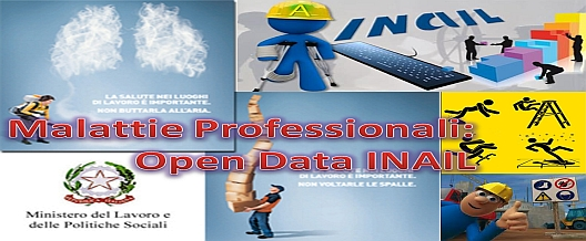 Malattie Professionali: open data INAIL