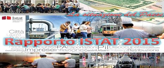 Rapporto Istat 2015