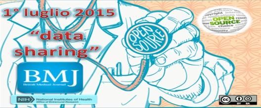 BMJ: dal 1° luglio 'data sharing'