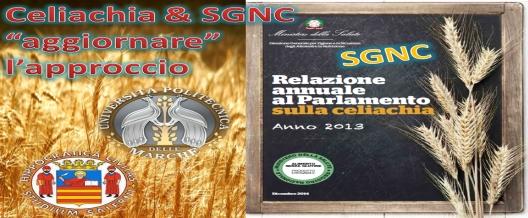 Celiachia & SGNC 'aggiornare' l'approccio