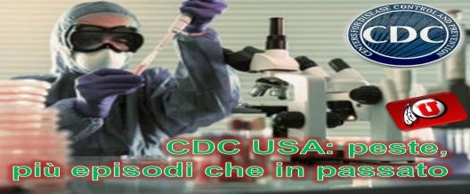 CDC USA: peste, più episodi che in passato