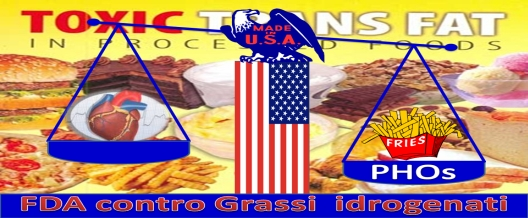 USA: la FDA in campo contro i grassi idrogenati