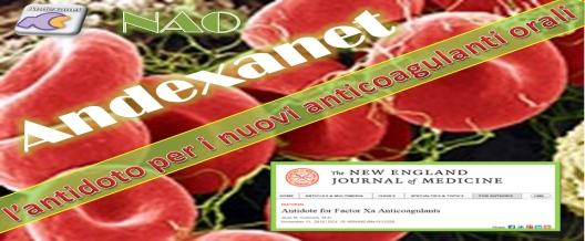 L'antidoto per i nuovi anticoagulanti orali