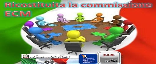 Ricostituita la Commissione ECM
