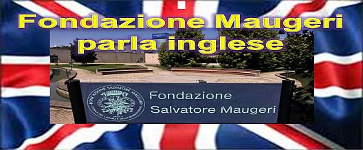 Fondazione Maugeri parla inglese