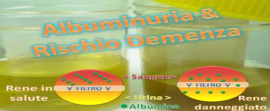 Albuminuria & rischio Demenza