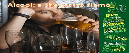 Alcool: a che punto siamo