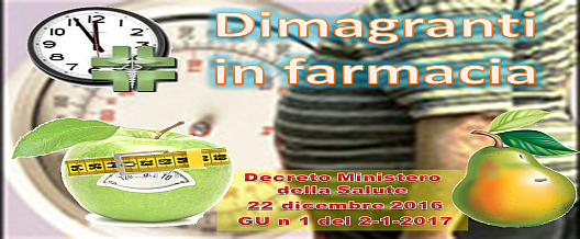 Dimagranti in farmacia
