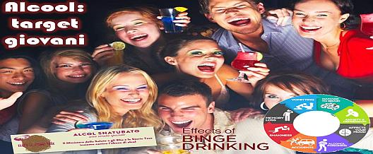 Alcool: target giovani
