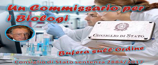 Un  Commissario per i Biologi