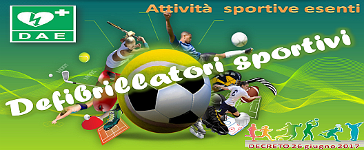 Defibrillatori sportivi