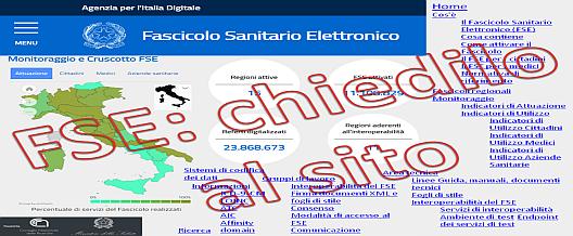 Fascicolo sanitario elettronico: chiedilo al sito