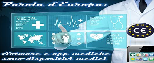 Parola d'Europa: software e app mediche sono dispositivi medici