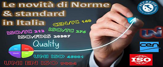 Le novità di Norme & Standard in Italia