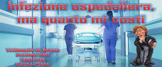 Infezione ospedaliera, ma quanto mi costi
