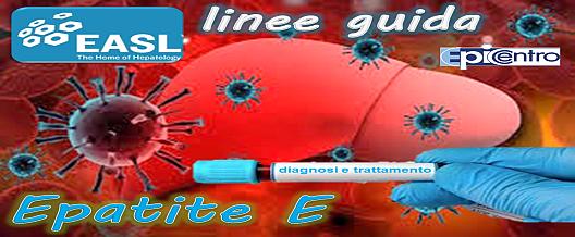 Epatite E: linee guida EASL