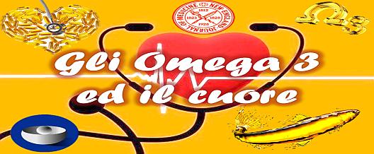 Gli omega-3 e il cuore