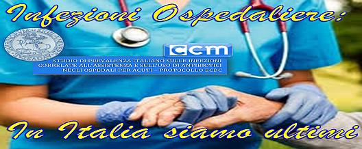 Infezioni ospedaliere: in Italia siamo ultimi