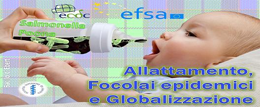 Allattamento, Focolai epidemici e Globalizzazione
