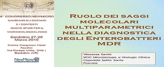 Saggi molecolari – Enterobatteri MDR