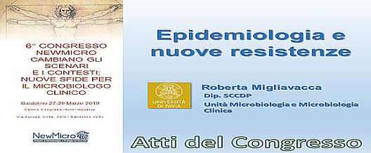 Epidemiologia e nuove resistenze