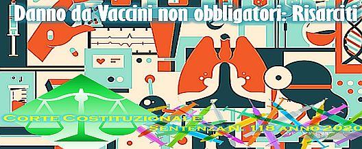 Danno da Vaccini non obbligatori: risarciti