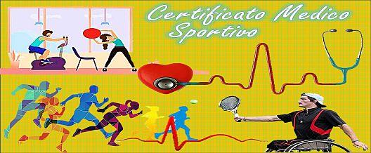 Certificato medico sportivo