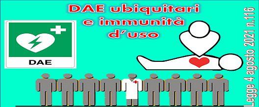 DAE ubiquitari e immunità d'uso