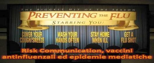 Risk Communication, vaccini antinfluenzali ed epidemie mediatiche