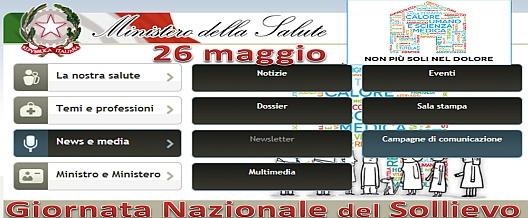 11° Giornata Nazionale Del Sollievo – Domenica 27 maggio 2013