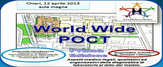 WORLD WIDE PoCT-Formazione a Chiari (BS)