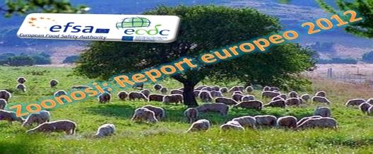 EFSA – Report 2012: chi cresce e chi diminuisce tra le zoonosi