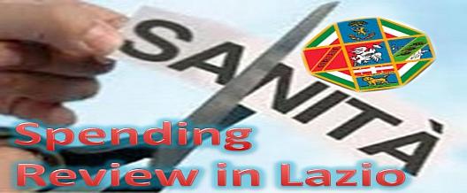Spending Review in Lazio