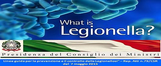 Legionella, LG e stato dell'arte per i laboratori