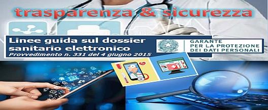 DSE – Dossier Sanitario Elettronico