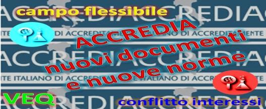 ACCREDIA nuovi documenti e nuove norme