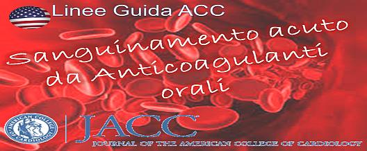 NAO, TAO e Sanguinamento acuto/cronico