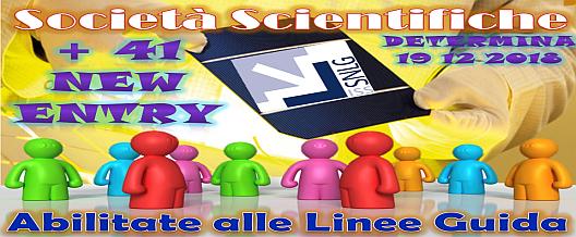 Linee Guida: 41 Società in più