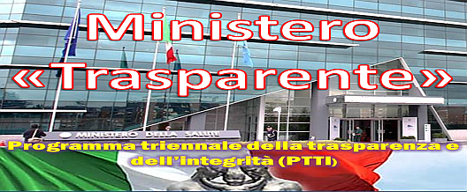 """Ministero """"Trasparente"""""""