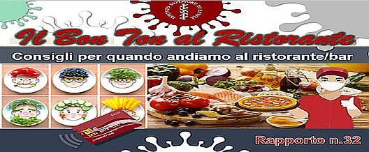 """COVID 19 – Il """"bon ton"""" al ristorante"""